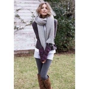Charcoal Fleece Lined Leggings